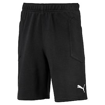 PUMA League of casuals s Jr Kids pants black and white
