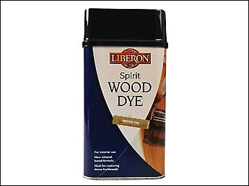 Liberon Spirit Wood Dye Medium Oak 1 Litre