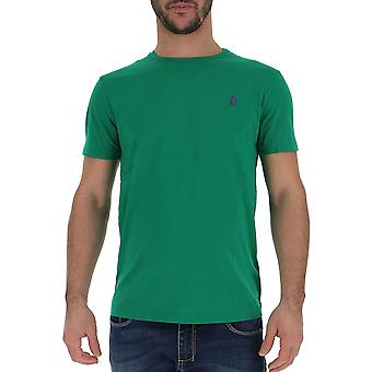T-shirt cotone Ralph Lauren verde