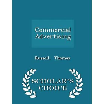 Kommerzielle Werbung Gelehrte Wahl Ausgabe von Thomas & Russell