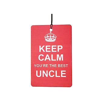Keep Calm du er den bedste onkel bil luftfriskere