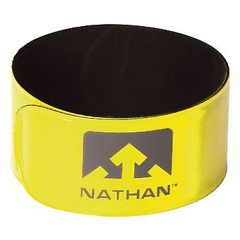 Nathan Sports Reflex Snap Wrist Bands OSFM 2 Pack