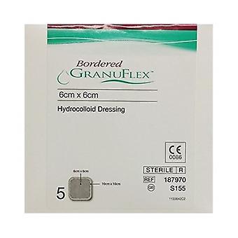 Granuflex E Bordered Dress S155 6X6Cm 5