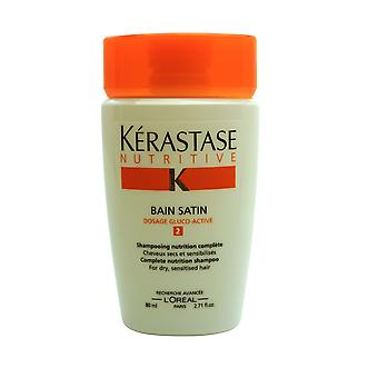 Kerastase Bain Satin #2 Shampoo 2.71 oz TRAVEL SIZE