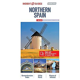 Insight Travel Map Northern Spain by Insight Guides - 9781786719041 B
