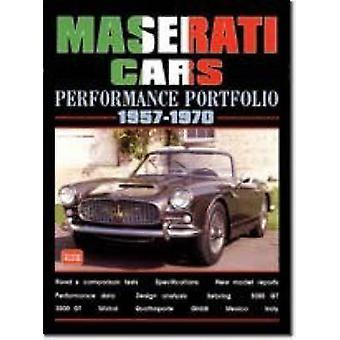 Maserati Cars Performance Portfolio 1957-70 by R. M. Clarke - 9781855