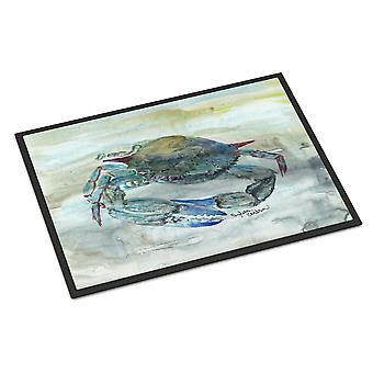 Carolines Treasures  SC2003JMAT Blue Crab Watercolor Indoor or Outdoor Mat 24x36