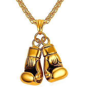 U7 Boxeo collar de oro