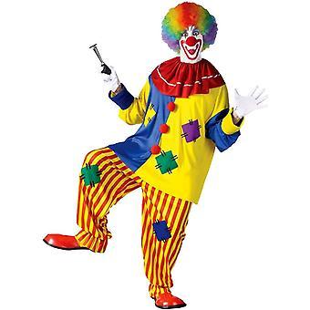 Costume adulte Clown coloré