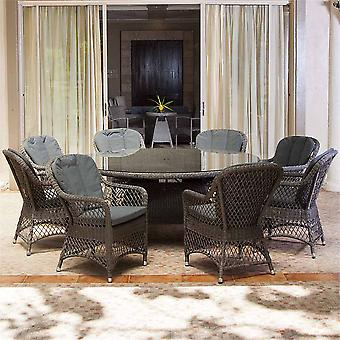 Alexander Rose Monte Carlo Dining Set - Open Weave Chair