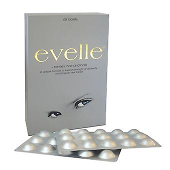 Pharmanord Evelle For Skin Hair and Nails Tabs 60