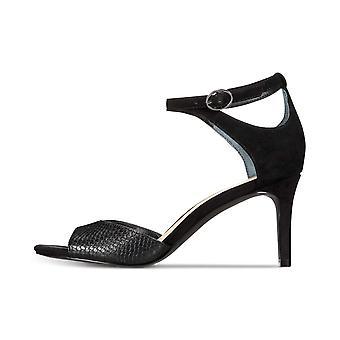 Alfani Womens Galeah Cuir Open Toe Casual Ankle Strap Sandales
