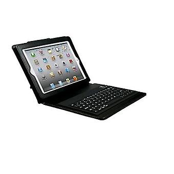 Mediacom ipad 2 zero line keyboard case + bluetooth keyboard for ipad 2 third generation black color
