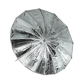 BRESSER SM-09 Jumbo Reflexschirm silber/schwarz 162 cm