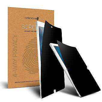 Celicious Privacy Plus 4-Way Anti-Spy Filter Screen Protector Film Compatible with Apple iPad Pro 12.9