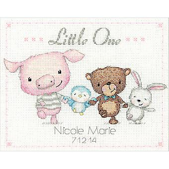 Little One Birth Record Counted Cross Stitch Kit-10
