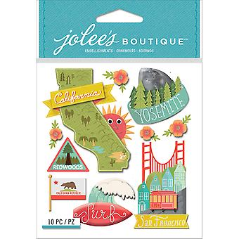 Jolee's Boutique Dimensional Stickers-California E5021859