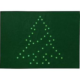 LED decorative lighting Christmas Tree (doormat) Green LED