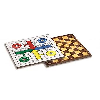 Cayro Parcheesi-ladies wood 40 X 40 (children, toys, board games, strategy)