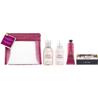 Crabtree & Evelyn poire & Magnolia rose voyageur Gift Set