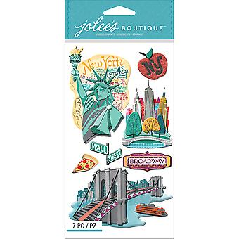 Jolee's Boutique Dimensional Stickers-New York E5050635