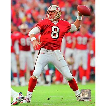 Steve Young 1997 Action Photo Print