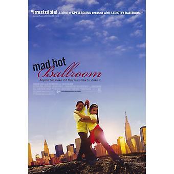 Impresión de póster de película Mad Hot Ballroom (27 x 40)