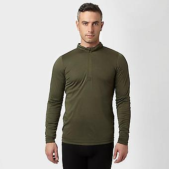 Peter Storm Men's Long Sleeve Zip Neck Thermal T-Shirt