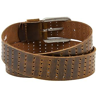 Billy the kid full leather belt with buckle M433-45