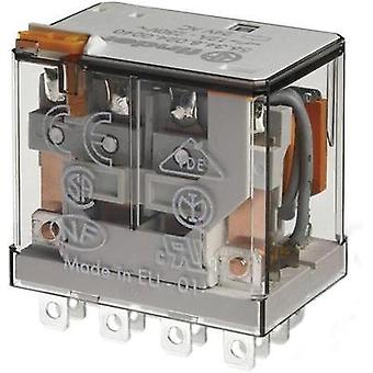 Plug-in relay 48 Vdc 12 A 4 change-overs Finder 56