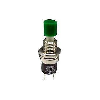 Pushbutton 250 Vac 1.5 A 1 x On/(Off) SCI R13-24B1-05 GN momentary 1 pc(s)