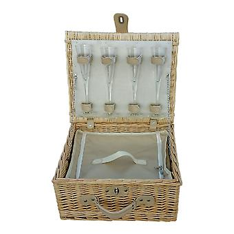Champagne Fitted Picnic Basket