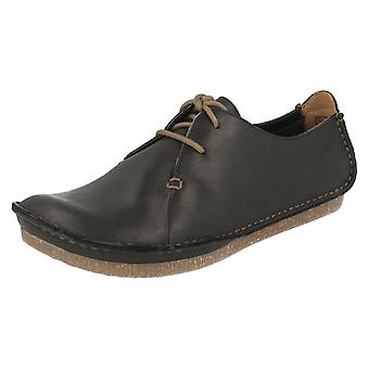 Ladies Clarks Lace Up Smart/Casual Shoes Janey Mae