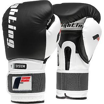 Lucha deportes S2 Gel boxeo Power guantes de entrenamiento - negro
