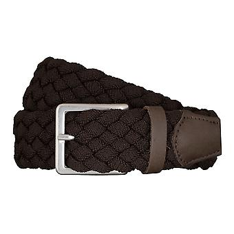 BRAX belts men's belts textile woven belt Brown 5403