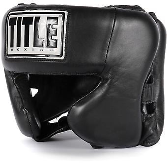 Title Boxing Hi-Performance Leather Headgear
