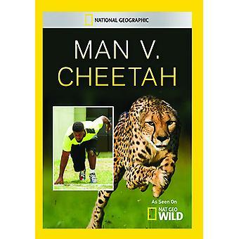 Mand V. Cheetah [DVD] USA importerer