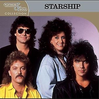 Starship - Platinum & Gold Collection [CD] USA import