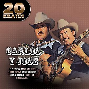 Carlos Y Jose - 20 priserne [CD] USA importerer