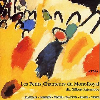 L. Daunais - Daunais, Debussy, Vivier, Watson, Reger, Verdi [CD] USA importare