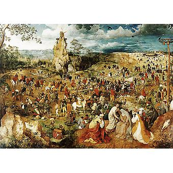Pieter Bruegel the Elder - Moving Poster Print Giclee