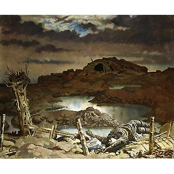 William Orpen - Zonnebeke Poster Print Giclee