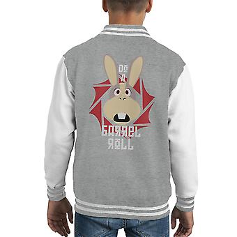 Fare Varsity Jacket un Barrel Roll Star Fox capretto