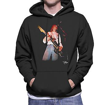 Kurt Cobain Singing Live Guitar Men's Hooded Sweatshirt
