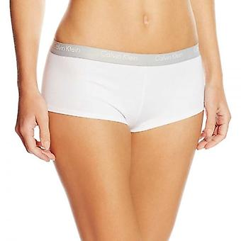 Mujeres de Calvin Klein CK One algodón Shorty, blanco, medio