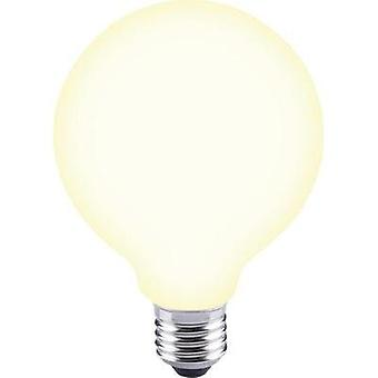 LED E27 globo 12 W = 88 W Warm white (Ø x L) 95 x 135 mm EEC: base-congelador a ++ Sygonix filamento 1 PC