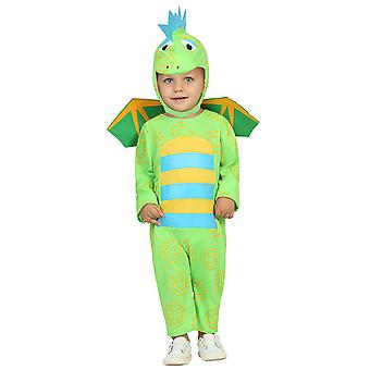 Baby costumes  Baby Dragon costume Green