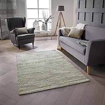 Tapis Plain Harper vert Rectangle tapis Plain/presque