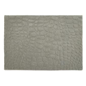 Marbles grå rektangel mattor Plain/nästan slätt mattor