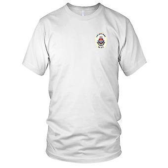 E.U. Marinha DD-973 USS John Young bordada Patch - Mens T-Shirt
